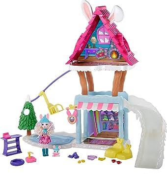 Amazon.es: Enchantimals- Vamos de Chalet de esquí Pack con muñeca y Accesorios (Mattel GRW92): Juguetes y juegos