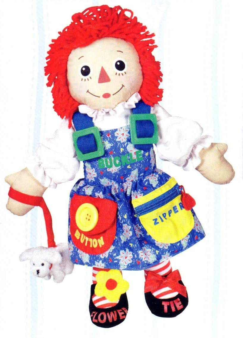 Amazon Com Dress Me Raggedy Ann Doll From Toys R Us Toys Games