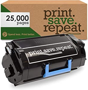 Print.Save.Repeat. Dell 2TTWC High Yield Remanufactured Toner Cartridge for B5460, B5465 [25,000 Pages]