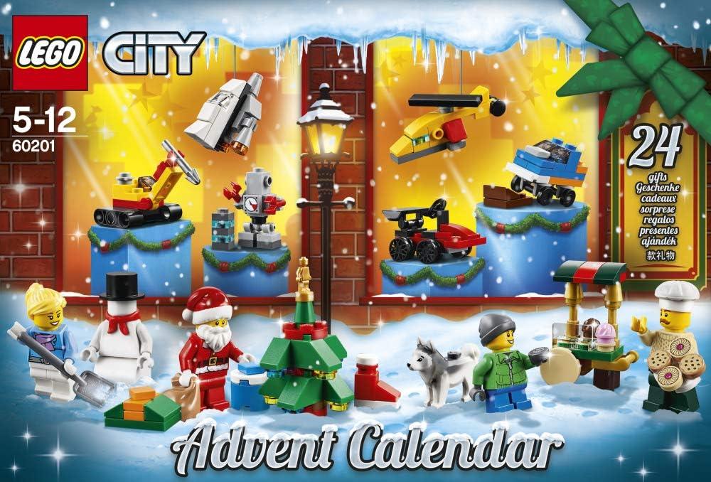 LEGO City 60201 Advent Calendar 2018 Minifigures NEW SEALED RETIRED