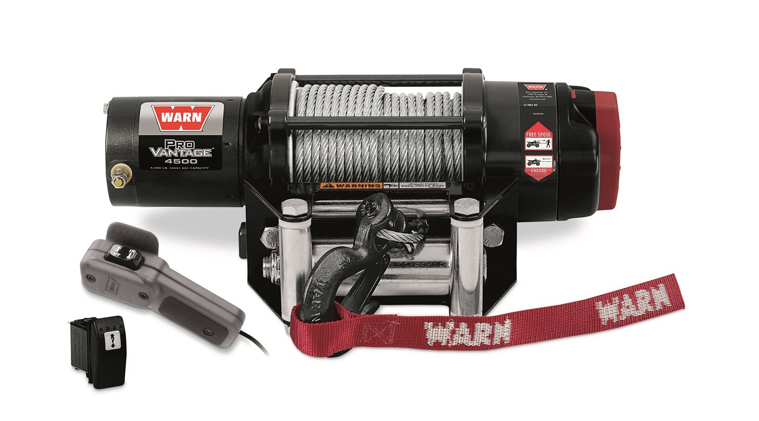 WARN 90450 ProVantage 4500 Winch - 4500 lb. Capacity by WARN