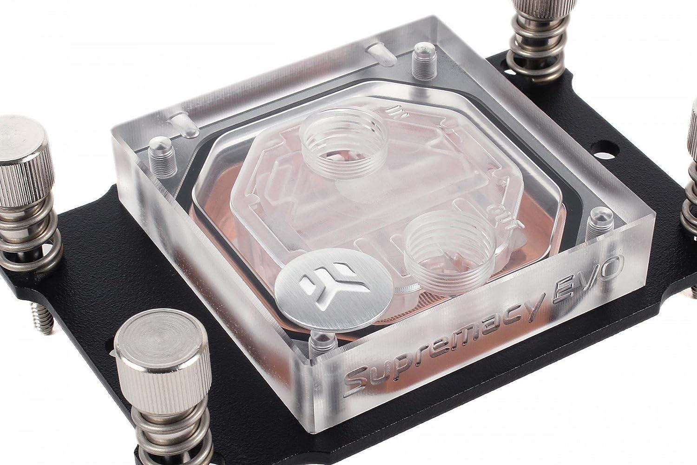 AMD CPU EKWB EK-Supremacy EVO CPU Waterblock Copper//Plexi
