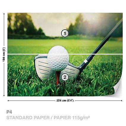 golf wall mural photo wallpaper room décor 1621ws amazon com