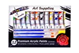 Colorona Acrylic Paint Set 12 Colors with