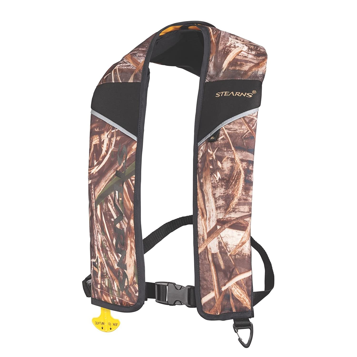 Stearns 24g Manual Life Vest, RealTree Max-4 Camo by Stearns B00W0EQRLK