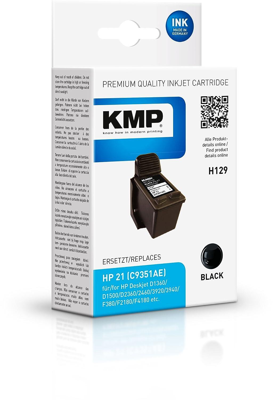 KMP H129 5ml 190páginas Negro cartucho de tinta - Cartucho ...
