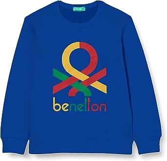 United Colors of Benetton Sudadera con Capucha para Niños