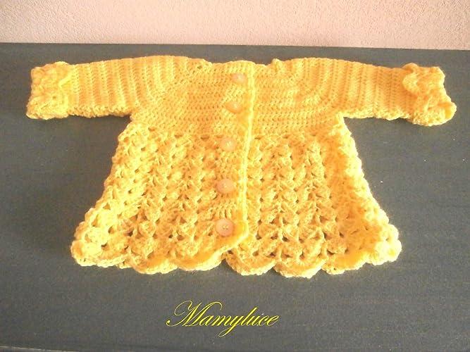 Veste jaune laine