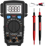 BSIDE Pocket Digital Multimeter True RMS 6000 Counts Auto-Ranging Electricians DMM Temperature Capacitance Diode Hz V…