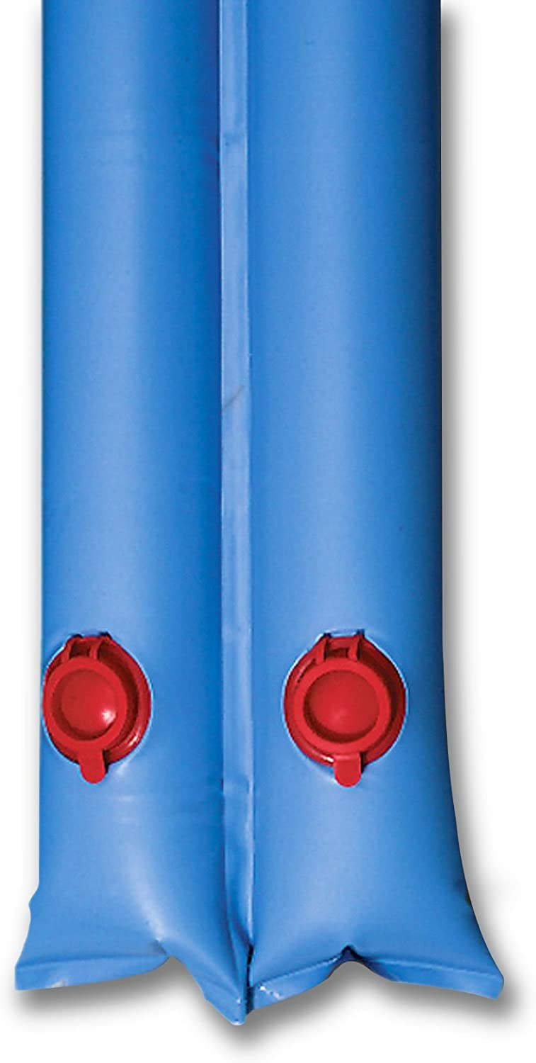 In The Swim 10 Foot Double Water Tubes Winter Pool Cover Weights - Blue - 6 Pack: Garden & Outdoor