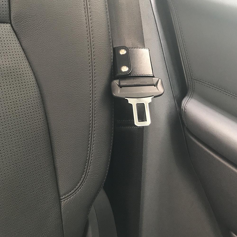 un confort Jemache Universal Auto /épaule Sangle de cou Positionneur Clip de verrouillage ceinture de s/écurit/é couvertures Ajusteur de ceinture de s/écurit/é