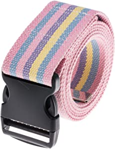 COW&COW Gait Belt 60inch - Transfer and Walking Assistance with Quick Release Buckle for Caregiver Nurse Therapist 2 inches(Rainbow)