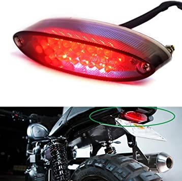 Motorrad Rücklicht 28 Led Motorrad Running Stop Bremse Nummernschild Rücklicht Auto