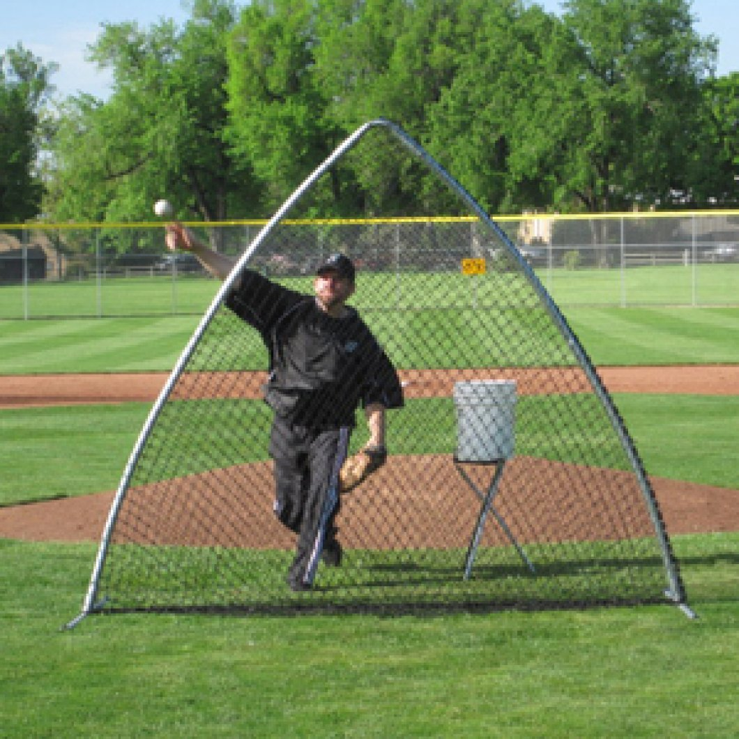 TAG Baseball A-Frame Screen with Carrying Bag
