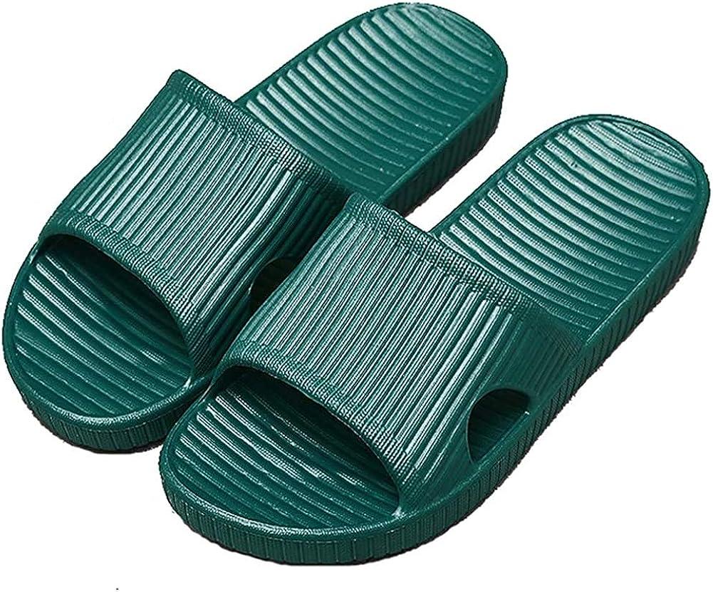 Anti-Slip Slip-on Slippers Indoor Use