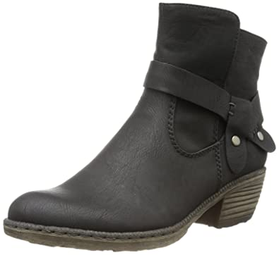 Rieker Damen 93766 Cowboy Stiefel, (schwarz   00), 42 EU  Amazon.de ... dcb8517c2f