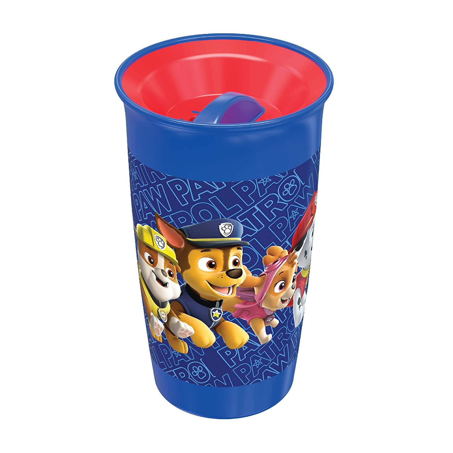 Amazon Com Playtex Sipsters Stage 2 360 Degree Paw Patrol Spill Proof Leak Proof Break Proof Spoutless Cup For Boys 10 Ounce Pack Of 2 Baby