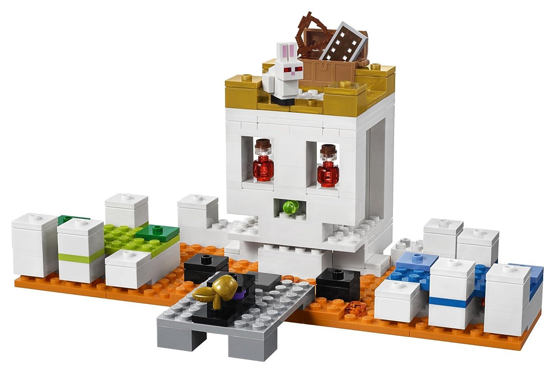 198 Piece LEGO Minecraft The Skull Arena 21145 Building Kit