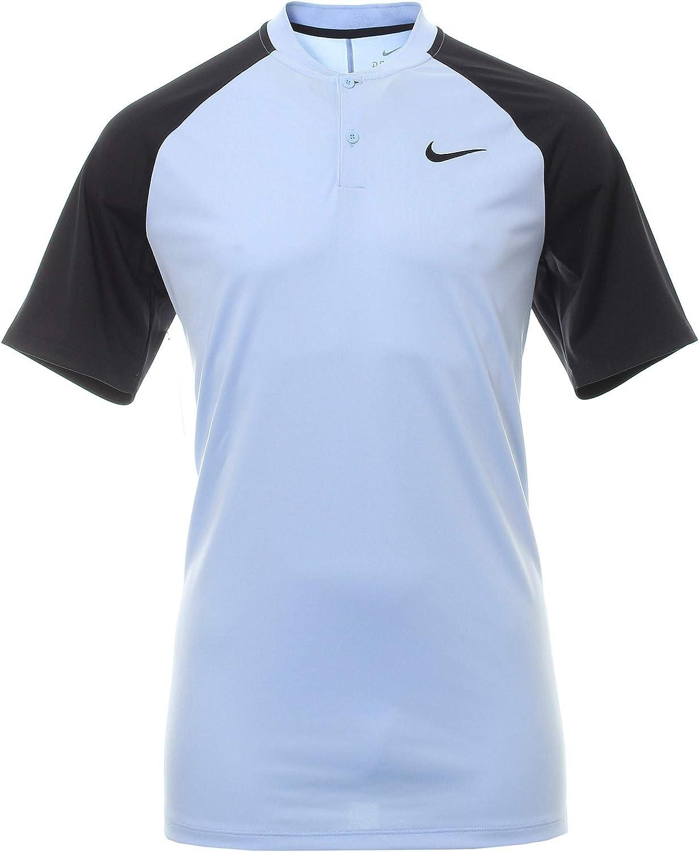 Nike 929142 Polo, Azul (Azul/Negro 415), Medium (Tamaño del ...