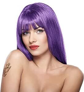 StarGazer Semi Permanent Hair Color - PURPLE - Amonia Free Hair Dye Includes Gloves by Stargazer Enterprises