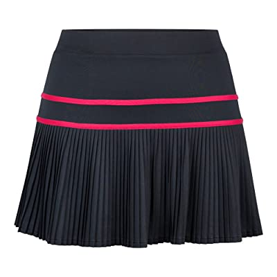 Tail Women`s Erin 14.5 inch Tennis Skort Black-(TC6814-9992S17)