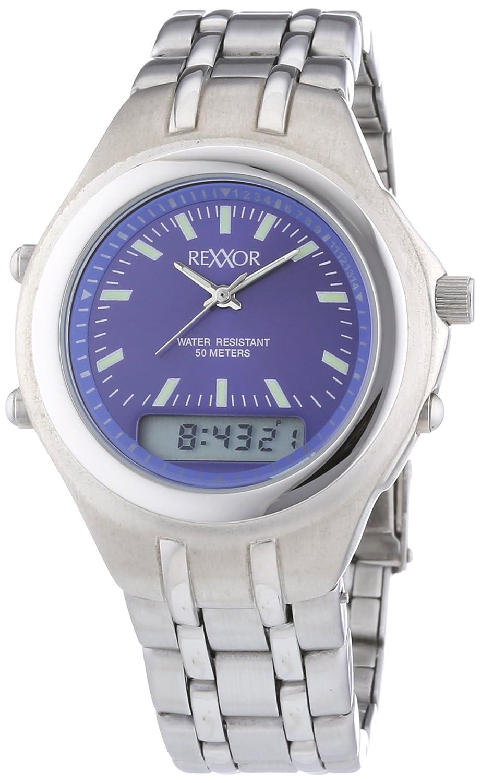 Rexxor 242-7904-98 - Reloj de Cuarzo para Hombres, Color Plata