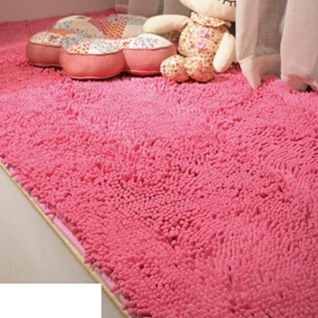 Amazon.com: Thick chenille bedroom carpet/ Bay window bedside mat ...