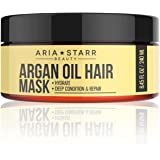 AriaStarrBeauty Argan Oil Restorative Mask Repair Hair Treatment