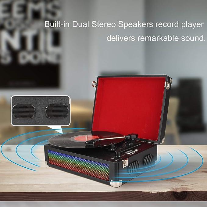 Amazon.com: DIGITNOW Reproductor de grabación Bluetooth para ...