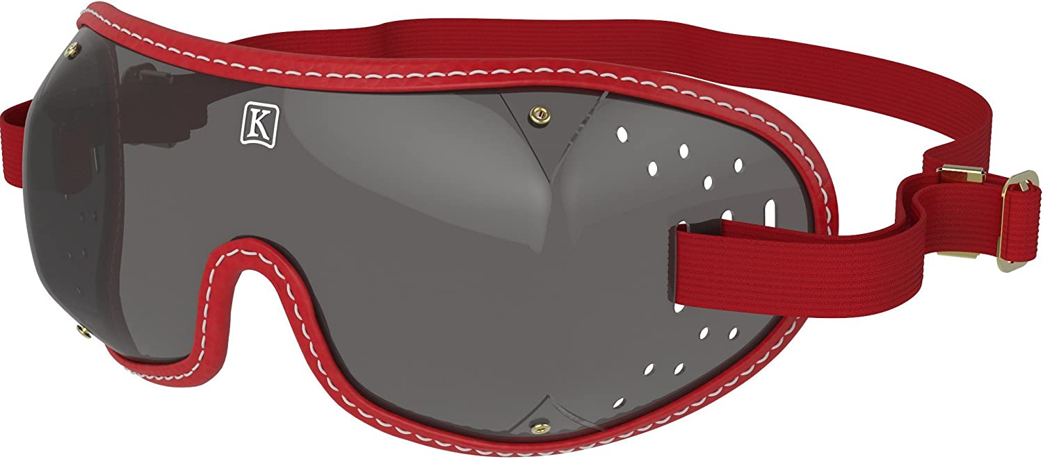 Helmet compatible Kroops Tripple Slot Goggles Complete with Free Kroops Microfibre Storage Pouch