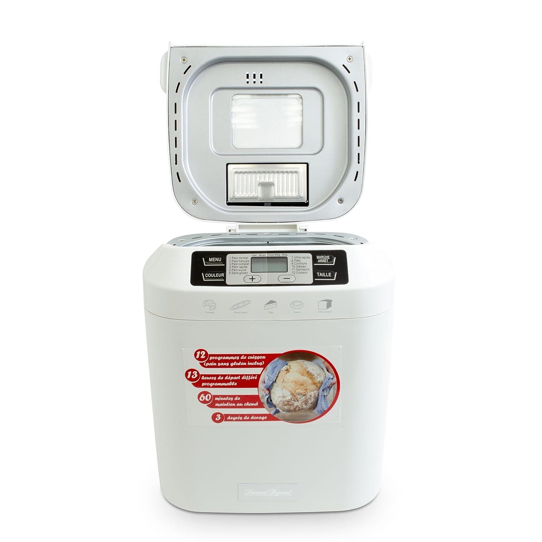 Máquina de pan y confección modelo Crousti Mid: Amazon.es: Hogar