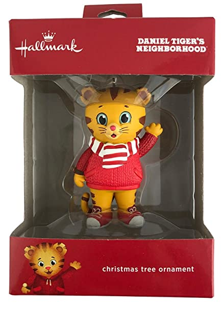 Amazon.com: Hallmark Daniel Tigers Neighborhood Ornament Childs ...