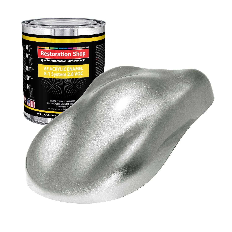 Restoration Shop - Gallon ONLY - STERLING SILVER METALLIC Acrylic Enamel Single Stage Car Auto Paint