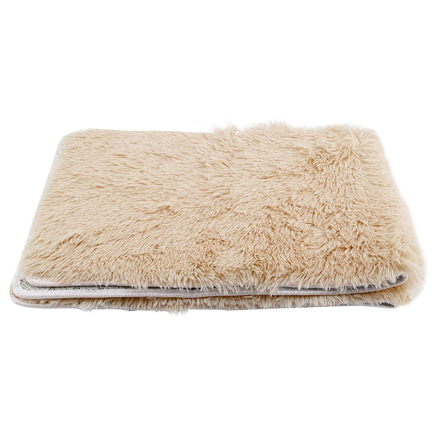 MultiWare Fluffy Area Rugs Anti Skid Yoga Carpet For Living Room Bedroom Brown120cm X 80cm Amazoncouk Kitchen Home