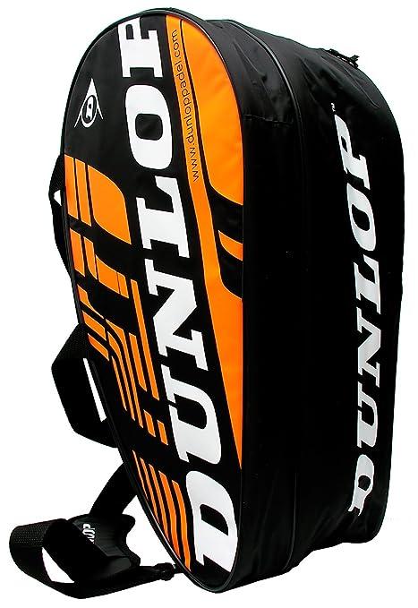 Paletero de pádel Dunlop Play Naranja 2016: Amazon.es ...