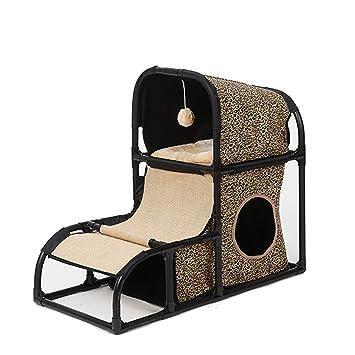 Muebles para Gatos Multifuncionales Gato Escalada Marco Combinación Desmontable para Gatos Suministros para Gatos Plataforma De Salto De Gato Soporte para ...
