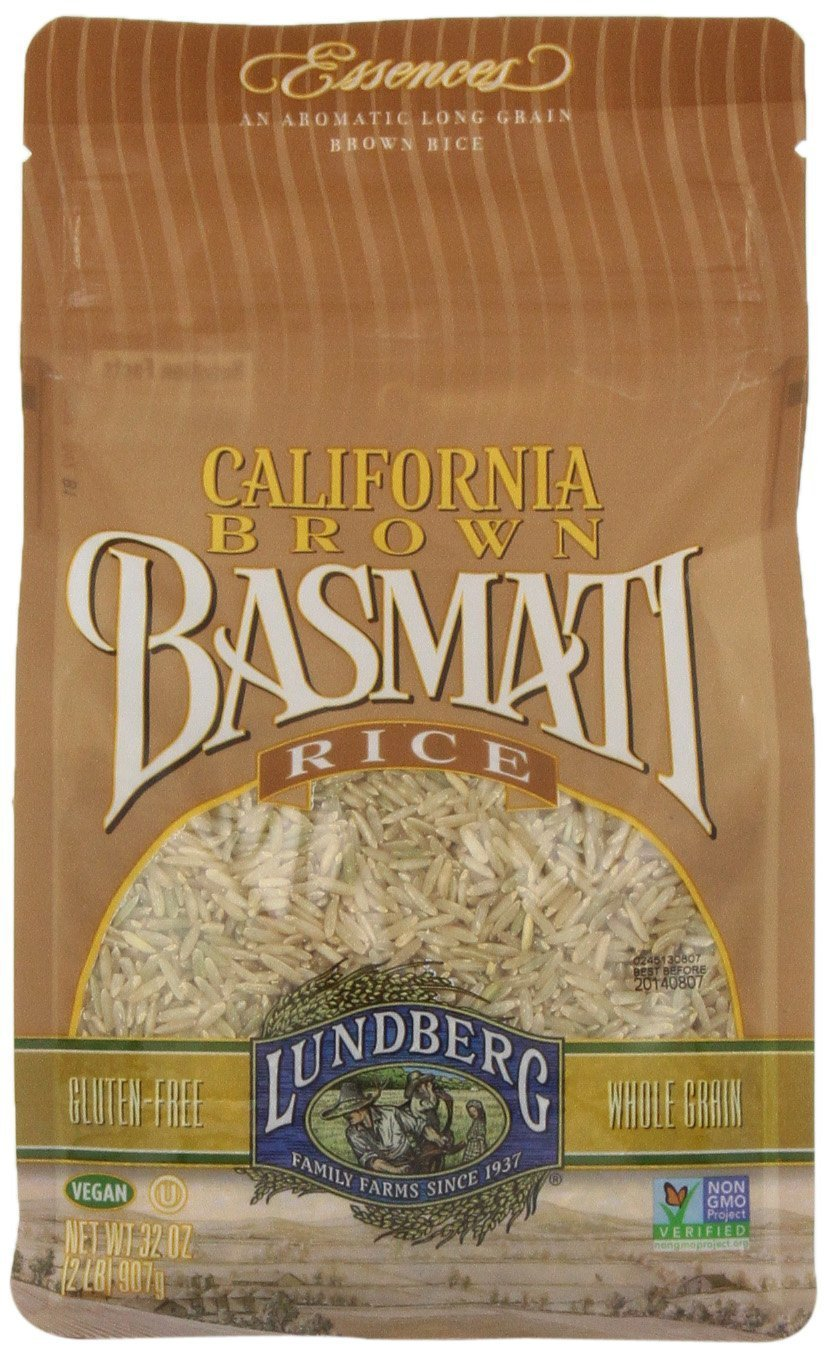 Lundberg California Brown Basmati Rice - 2 lbs by Lundberg