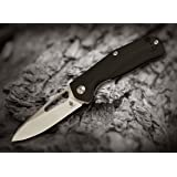 Kizer Knives Cutlery Flipper V4461A1 Tactical Folding Knife - Pocket Hunting Rescue Tool - EDC,Outdoor Survival Camping Knife - Military Style