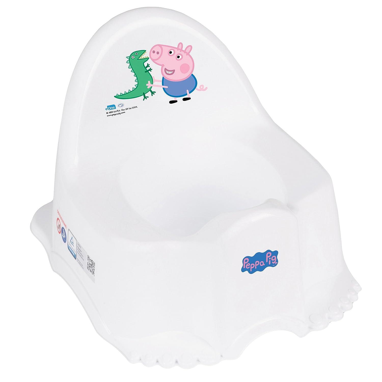 Musical antidérapant Pot Motif coloré–Peppa Pig Tega Baby PO-046