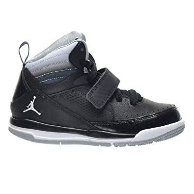 site réputé 5ffe9 5f6df Amazon.com | Jordan Flight 97 BP Little Kid's Shoes Black ...