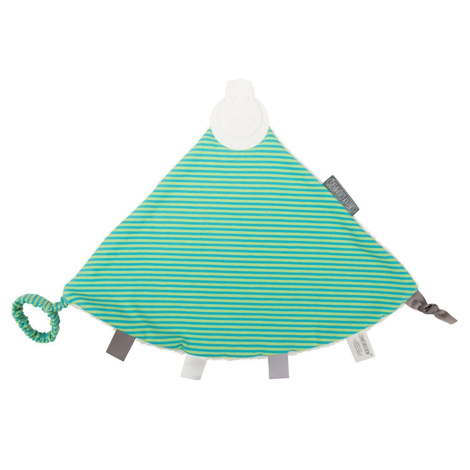 Cheeky Chompers Comfortchew Bib, Uni-Stripe, Green Cheeky Chompers® 771041