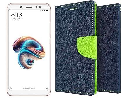 brand new 80837 a3428 Wallet Mercury Flip Cover for Redmi Note 5 Pro Colour: Amazon.in ...