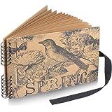 Photo Album Scrapbook, DIY Album Scrapbook Travel Scrapbook for Anniversary, Wedding, Travelling, Graduation, Holiday, Christmas Gift