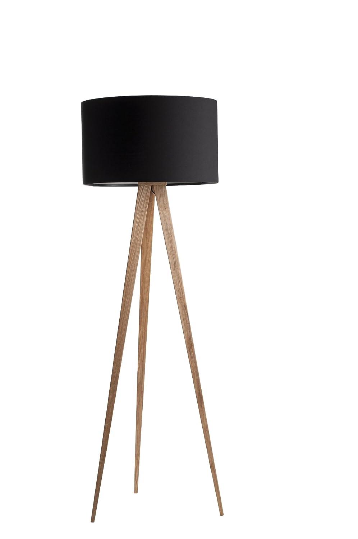 Zuiver 5000805 Floor Lamp Tripod, Holz, schwarz