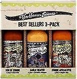 Torchbearer Sauces Hot Sauce Best Sellers Mini Bundle Set, 1.7 Oz Each: Zombie Apocalypse, Garlic Reaper, & Son of…