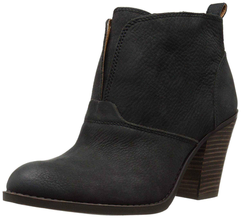 Lucky Brand Women's Ehllen Boot, Black, 10 M US