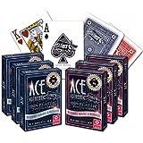 ACE Casino 100% Plastic Playing Cards - 6 Decks