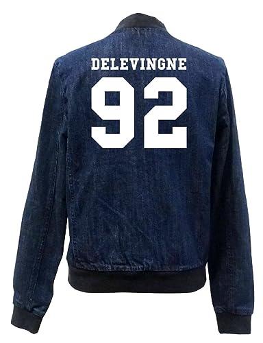 delevingne 92 Bomber Chaqueta Girls Jeans Certified Freak