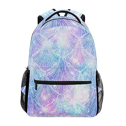 57243339e6b0 Amazon.com: AGONA Fashion Print School Backpack, Casual Lightweight ...