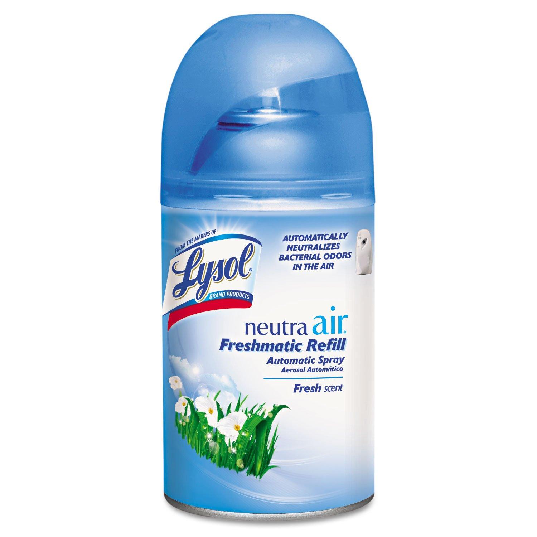 LYSOL 79831 Spray Dispenser Refill, Fresh Scent, Aerosol, 6.17oz